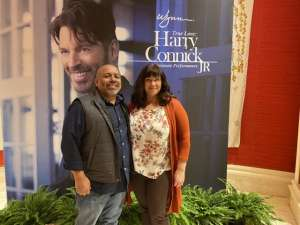 Nelson attended Harry Connick, Jr. True Love: an Intimate Performance on Feb 26th 2020 via VetTix