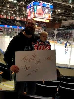 Jason Tucker attended Rochester Americans vs Binghamton Devils - AHL on Mar 11th 2020 via VetTix