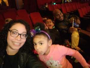 Diana attended Nick Jr. Live! Move to the Music on Feb 29th 2020 via VetTix