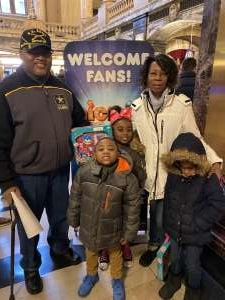 Andre crowder and family  attended Nick Jr. Live! Move to the Music on Feb 29th 2020 via VetTix