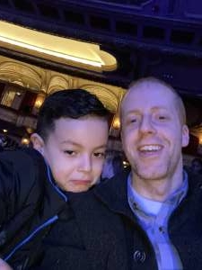 Sean attended Nick Jr. Live! Move to the Music on Feb 29th 2020 via VetTix
