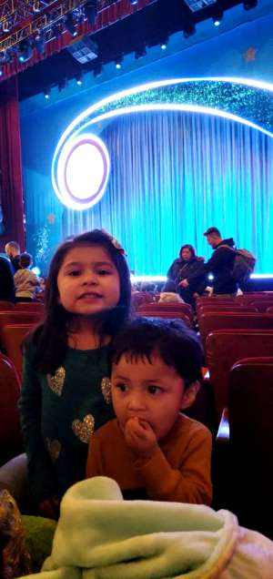 Pablo attended Nick Jr. Live! Move to the Music on Feb 29th 2020 via VetTix