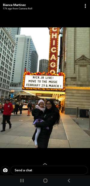 Eddie attended Nick Jr. Live! Move to the Music on Feb 29th 2020 via VetTix