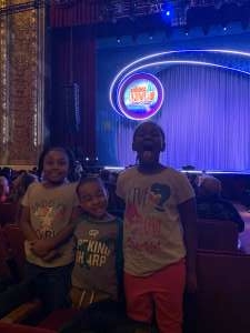 RC attended Nick Jr. Live! Move to the Music on Feb 29th 2020 via VetTix