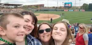 Jessica  attended White Sox vs. Texas Rangers - MLB ** Spring Training ** on Mar 10th 2020 via VetTix