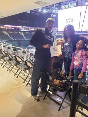 Frederick attended USA Gymnastics - American Cup Weekend 2020 - All-sessions on Mar 6th 2020 via VetTix