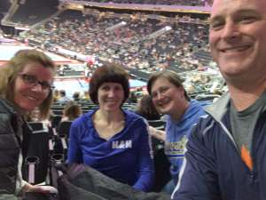Alli attended USA Gymnastics - American Cup Weekend 2020 - All-sessions on Mar 6th 2020 via VetTix