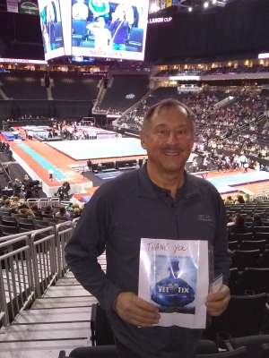 Charlie attended USA Gymnastics - American Cup Weekend 2020 - All-sessions on Mar 6th 2020 via VetTix