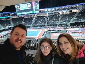 Greg attended USA Gymnastics - American Cup Weekend 2020 - All-sessions on Mar 6th 2020 via VetTix