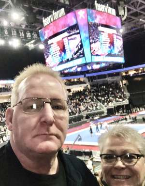 Scott Prisk attended USA Gymnastics - American Cup Weekend 2020 - All-sessions on Mar 6th 2020 via VetTix
