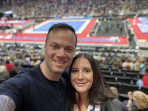 Luke attended USA Gymnastics - American Cup Weekend 2020 - All-sessions on Mar 6th 2020 via VetTix