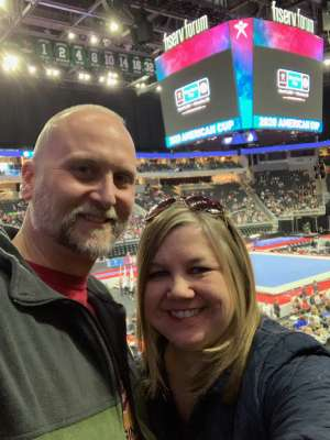 Aaron Wigen attended USA Gymnastics - American Cup Weekend 2020 - All-sessions on Mar 6th 2020 via VetTix