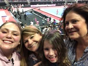 Sandy attended USA Gymnastics - American Cup Weekend 2020 - All-sessions on Mar 6th 2020 via VetTix