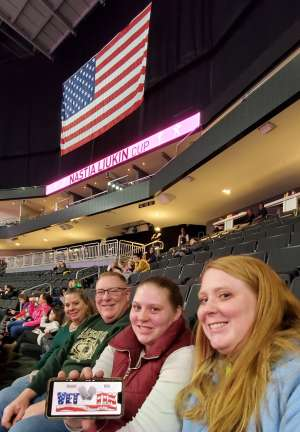The McCamey's attended USA Gymnastics - American Cup Weekend 2020 - All-sessions on Mar 6th 2020 via VetTix