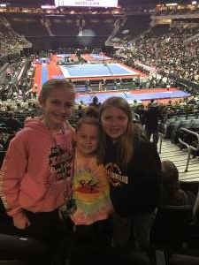 Beckey attended USA Gymnastics - American Cup Weekend 2020 - All-sessions on Mar 6th 2020 via VetTix