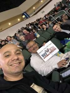Ben attended Austin Spurs vs. Northern Arizona Suns - NBA G-league ** Seats for Soldiers ** on Mar 6th 2020 via VetTix