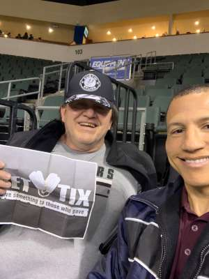 Mark attended Austin Spurs vs. Northern Arizona Suns - NBA G-league ** Seats for Soldiers ** on Mar 6th 2020 via VetTix