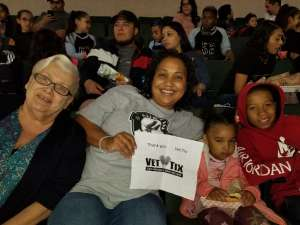MARGARETHA attended Austin Spurs vs. Northern Arizona Suns - NBA G-league ** Seats for Soldiers ** on Mar 6th 2020 via VetTix