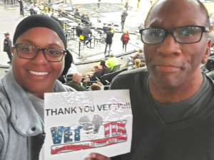 Cathy S. attended Austin Spurs vs. Northern Arizona Suns - NBA G-league ** Seats for Soldiers ** on Mar 6th 2020 via VetTix