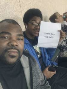 MarcusP attended Austin Spurs vs. Northern Arizona Suns - NBA G-league ** Seats for Soldiers ** on Mar 6th 2020 via VetTix