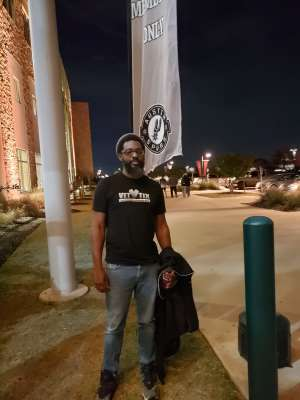 Larry attended Austin Spurs vs. Northern Arizona Suns - NBA G-league ** Seats for Soldiers ** on Mar 6th 2020 via VetTix