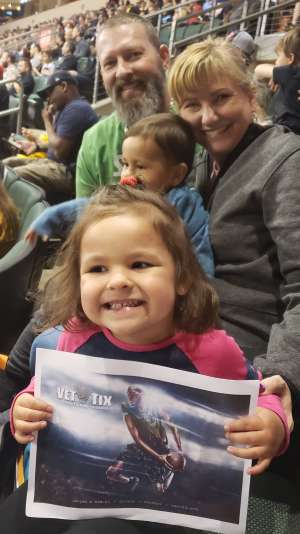 Tom attended Austin Spurs vs. Northern Arizona Suns - NBA G-league ** Seats for Soldiers ** on Mar 6th 2020 via VetTix