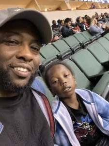 A. SPURS FAN attended Austin Spurs vs. Northern Arizona Suns - NBA G-league ** Seats for Soldiers ** on Mar 6th 2020 via VetTix
