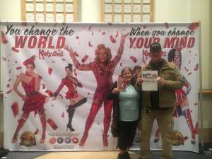 Jerry attended Kinky Boots on Feb 29th 2020 via VetTix