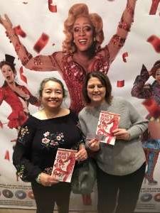 SFC (Ret) Marie attended Kinky Boots on Feb 29th 2020 via VetTix