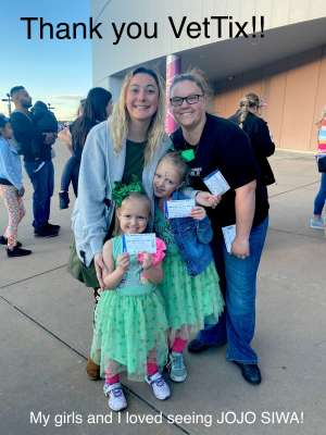 Michael Johnson attended Jojo Siwa - D. R. E. A M. on Mar 11th 2020 via VetTix