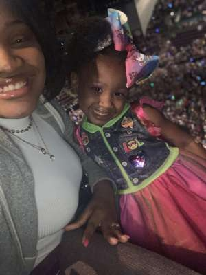The Roberts Family attended Jojo Siwa - D. R. E. A M. on Mar 11th 2020 via VetTix
