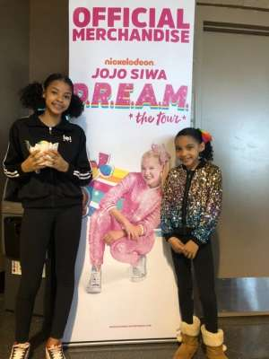 GEORGE  attended Jojo Siwa - D. R. E. A M. on Mar 11th 2020 via VetTix