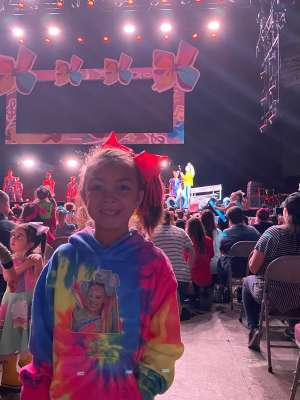 Kevin K. attended Jojo Siwa - D. R. E. A M. on Mar 11th 2020 via VetTix