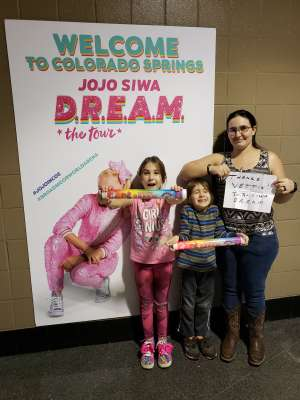 BALOO72  attended Jojo Siwa - D. R. E. A M. on Mar 11th 2020 via VetTix