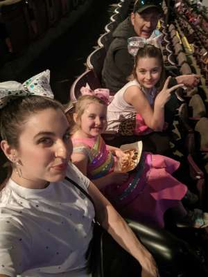 Thank you attended Jojo Siwa - D. R. E. A M. on Mar 11th 2020 via VetTix