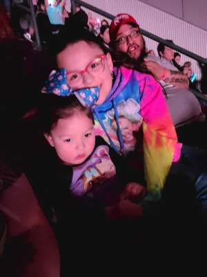 Eddie  attended Jojo Siwa - D. R. E. A M. on Mar 11th 2020 via VetTix