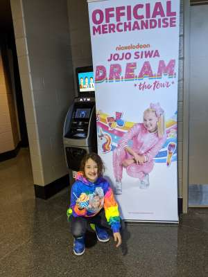 Becca attended Jojo Siwa - D. R. E. A M. on Mar 11th 2020 via VetTix