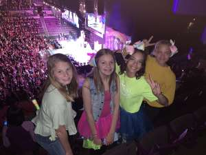 Bri attended Jojo Siwa - D. R. E. A M. on Mar 11th 2020 via VetTix