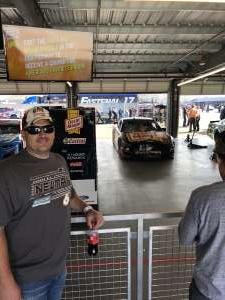 Bud attended Fanshield 500 - Phoenix Raceway on Mar 8th 2020 via VetTix