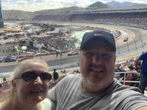 Dave attended Fanshield 500 - Phoenix Raceway on Mar 8th 2020 via VetTix