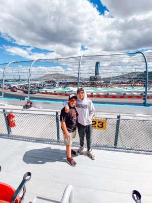 Scott attended Fanshield 500 - Phoenix Raceway on Mar 8th 2020 via VetTix