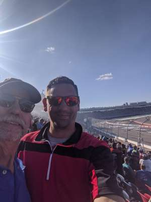 Jason attended Fanshield 500 - Phoenix Raceway on Mar 8th 2020 via VetTix