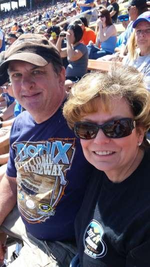 Richard attended Fanshield 500 - Phoenix Raceway on Mar 8th 2020 via VetTix