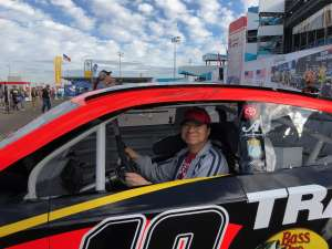 Tim attended Fanshield 500 - Phoenix Raceway on Mar 8th 2020 via VetTix