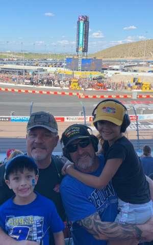John Erley (Ret MSgt) attended Fanshield 500 - Phoenix Raceway on Mar 8th 2020 via VetTix
