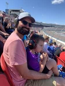 Seth attended Fanshield 500 - Phoenix Raceway on Mar 8th 2020 via VetTix