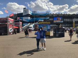 Alex attended Fanshield 500 - Phoenix Raceway on Mar 8th 2020 via VetTix