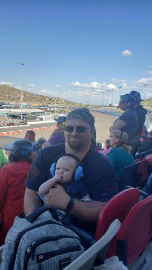 Peter attended Fanshield 500 - Phoenix Raceway on Mar 8th 2020 via VetTix