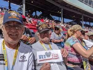 Stanley attended Fanshield 500 - Phoenix Raceway on Mar 8th 2020 via VetTix