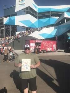 PMC attended Fanshield 500 - Phoenix Raceway on Mar 8th 2020 via VetTix